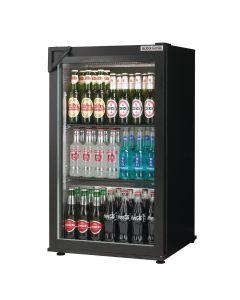 Autonumis Popular 1 Door Back Bar Cooler Black A209179