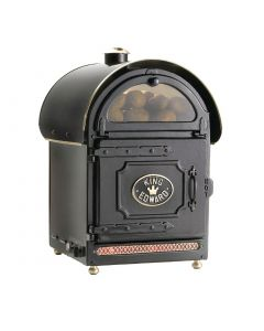 King Edward Large Potato Baker Black PB2FV/BLK
