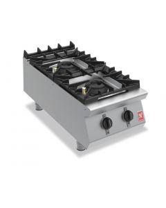 Falcon F900 Two Burner Countertop Boiling Hob Propane Gas G9042