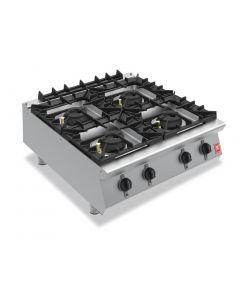 Falcon F900 Four Burner Countertop Boiling Hob Natural Gas G9084