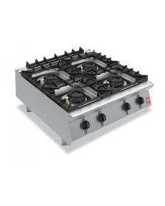 Falcon F900 Four Burner Countertop Boiling Hob Propane Gas G9084