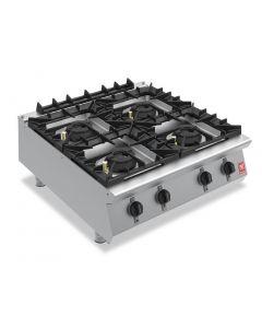 Falcon F900 Four Burner Countertop Boiling Hob Propane Gas G9084A