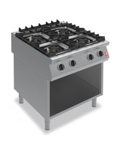 Falcon F900 Four Burner Boiling Hob on Fixed Stand Natural Gas G9084