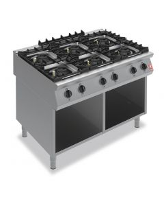 Falcon F900 Six Burner Boiling Hob on Fixed Stand Natural Gas G90126