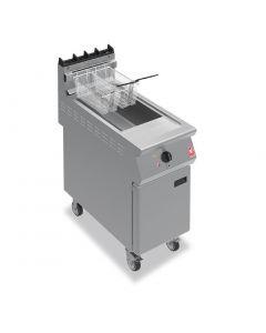 Falcon F900 Twin Basket Fryer On Castors Natural Gas (Direct)