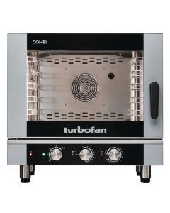 Blue Seal Turbofan 5 Grid Manual Control Combi Oven EC40M5