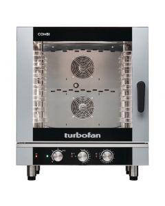Blue Seal Turbofan 7 Grid Manual Control Combi Oven EC40M7