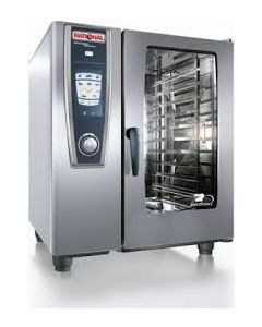 Rational Self Cooking Centre White Efficiency SCC101G/N NAT GAS